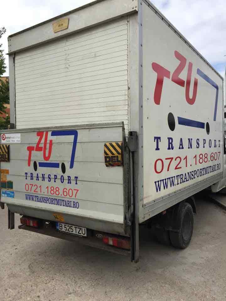 autoutilitara descarcare laterala 3.5 tone